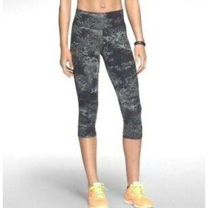 Nike Dri-Fit Black Grey Marble Leggings S